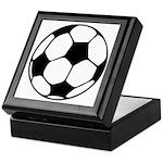Soccer Football Icon Keepsake Box