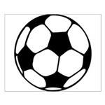Soccer Football Icon Small Poster