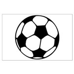 Soccer Football Icon Large Poster