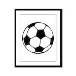 Soccer Football Icon Framed Panel Print