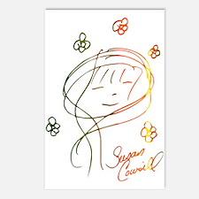 Susan Cowsill Face Autograph Postcards (8 pack)