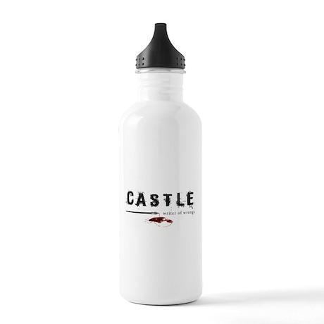 Castle writer of wrongs art p Stainless Water Bott