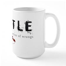 Castle writer of wrongs art p Mug