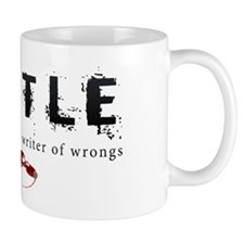 Castle writer of wrongs art p Mug