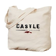 Castle writer of wrongs art p Tote Bag