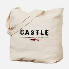 Castle writer of wrongs art p Tote Bag