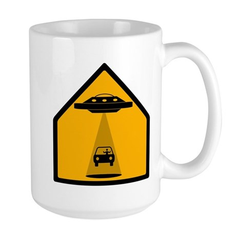 Abduction Zone Large Mug