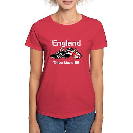 England Football Team Women's Dark T-Shirt