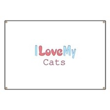 Love My Cats Banner
