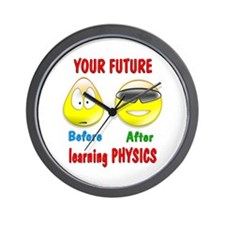Physics Future Wall Clock