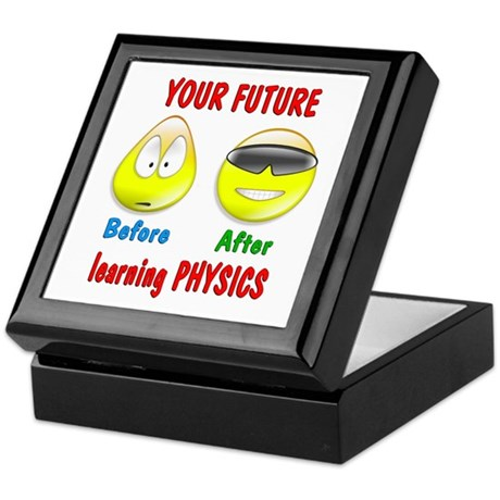 Physics Future Keepsake Box