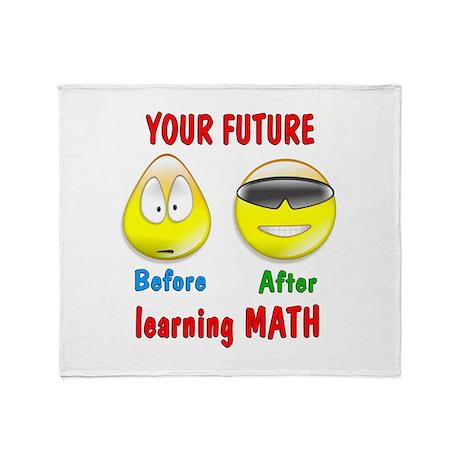 Math Future Throw Blanket