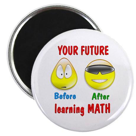 "Math Future 2.25"" Magnet (10 pack)"