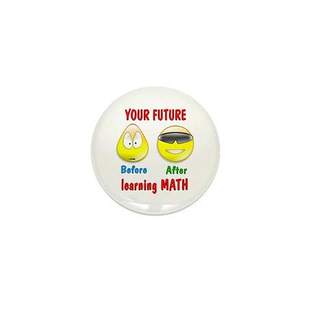Math Future Mini Button