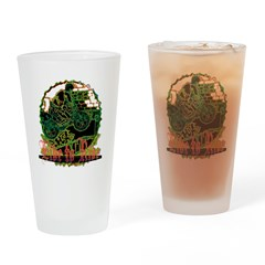 BMX Pint Glass