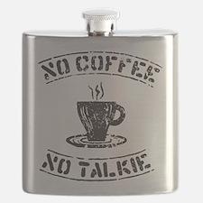 No Talkie Flask