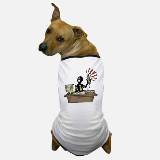 Cute Desk phone Dog T-Shirt