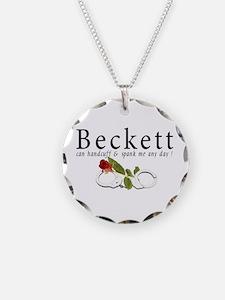 Beckett can handcuff n spank Necklace