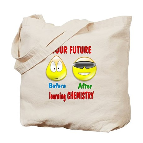 Chemistry Future Tote Bag