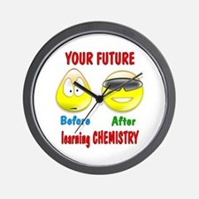 Chemistry Future Wall Clock