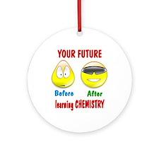 Chemistry Future Ornament (Round)