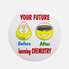 Chemistry Future Ornament (Round)