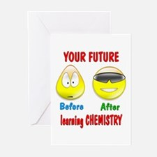 Chemistry Future Greeting Cards (Pk of 10)