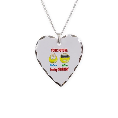 Chemistry Future Necklace Heart Charm
