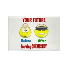 Chemistry Future Rectangle Magnet