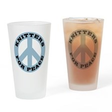 Knitters For Peace Pint Glass