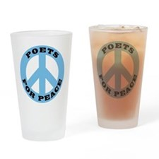 Poets For Peace Pint Glass