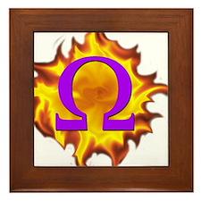 We are Omega! Framed Tile