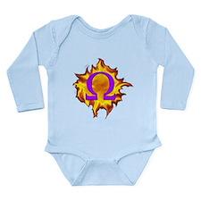 We are Omega! Long Sleeve Infant Bodysuit
