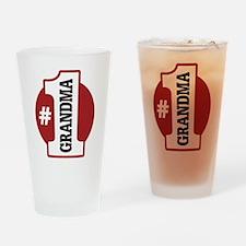#1 Grandma Pint Glass