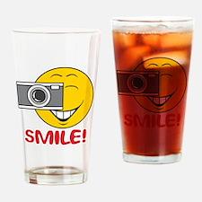 Photographer Smiley Face Pint Glass