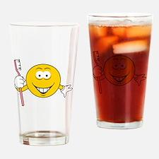 Dentist/Toothbrush Smiley Fac Pint Glass