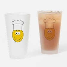 Chef/Cook Smiley Face Pint Glass