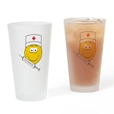 Medical/Doctor Smiley Face Pint Glass