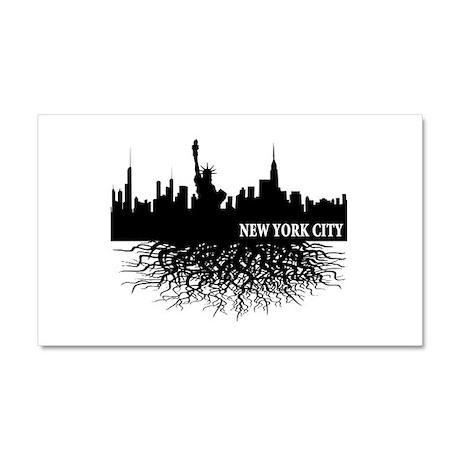New York City Car Magnet 12 x 20