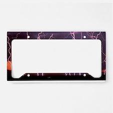 Lightning 1 License Plate Holder