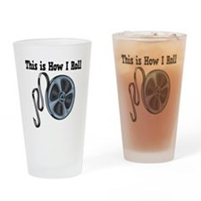 How I Roll (Movie Film) Pint Glass