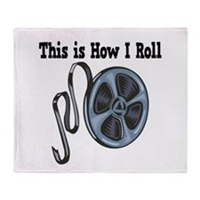 How I Roll (Movie Film) Throw Blanket