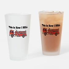 How I Roll (Fire Engine/Truck Pint Glass