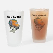 How I Roll (Garbage Truck) Pint Glass