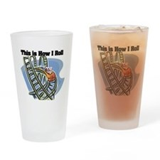 How I Roll (Roller Coaster) Pint Glass