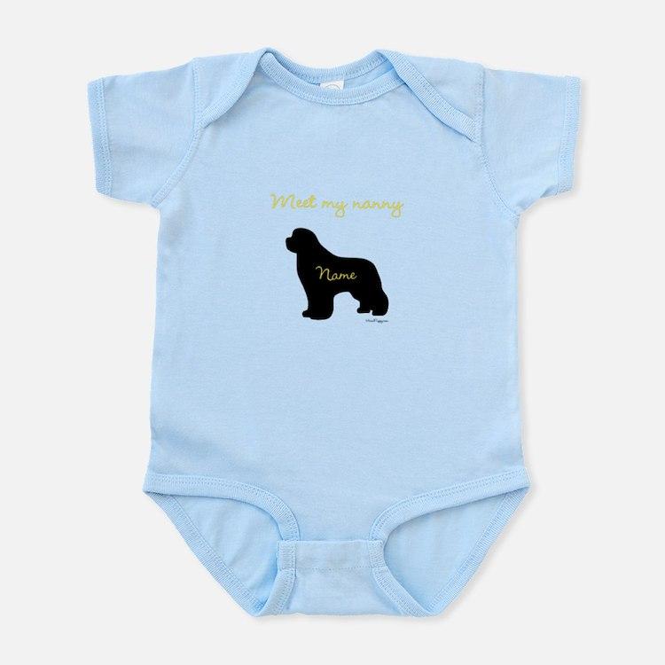 Meet My Nanny Infant Bodysuit