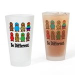 Be Different Ducks Pint Glass