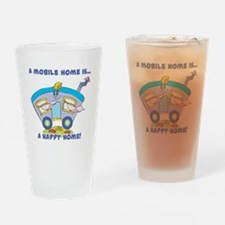 Mobile Home (Trailer) is a Ha Pint Glass