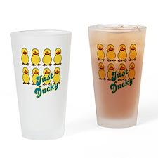 Just Ducky Ducks Pint Glass