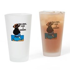 Save a horse. Ride a Cowgirl Pint Glass